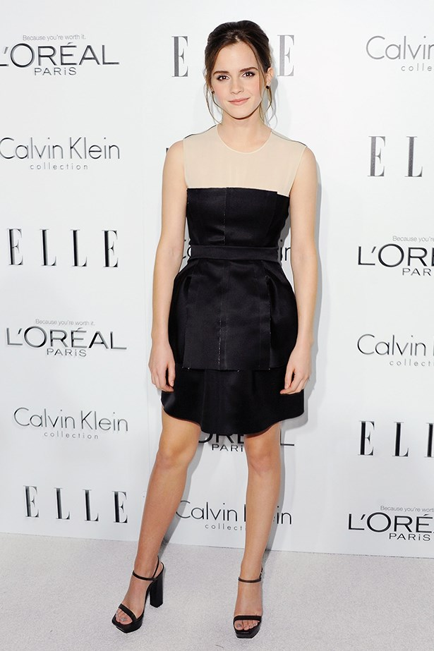 <p><strong>Honourable mention</strong></p> <p><strong>Emma Watson</strong></p> <i>Image: Wearing Calvin Klein at Elle's 19th Annual Women in Hollywood Celebration.</i>