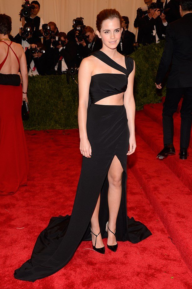<p><strong>Honourable mention</strong></p> <p><strong>Emma Watson</strong></p> <i>Image: Wearing Prabal Gurung at the Met Gala.</i>