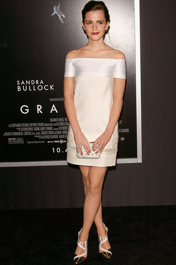 <p><strong>Honourable mention</strong></p> <p><strong>Emma Watson</strong></p> <i>Image: Wearing J. Mendel at the </i>Gravity<i> premiere, in New York City.</i>