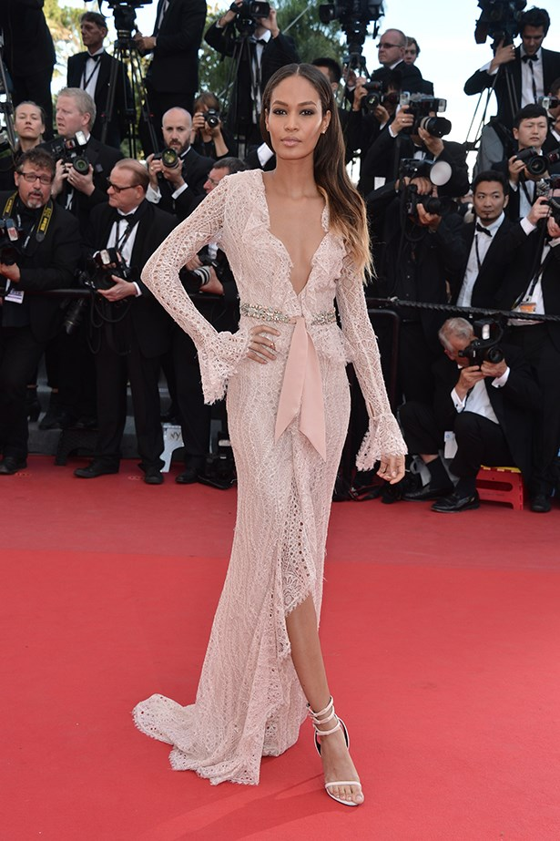 <p><strong>Model mention</strong></p> <p><strong>Joan Smalls</strong></p> <i>Image: Wearing Emilio Pucci at Cannes Film Festival.</i>