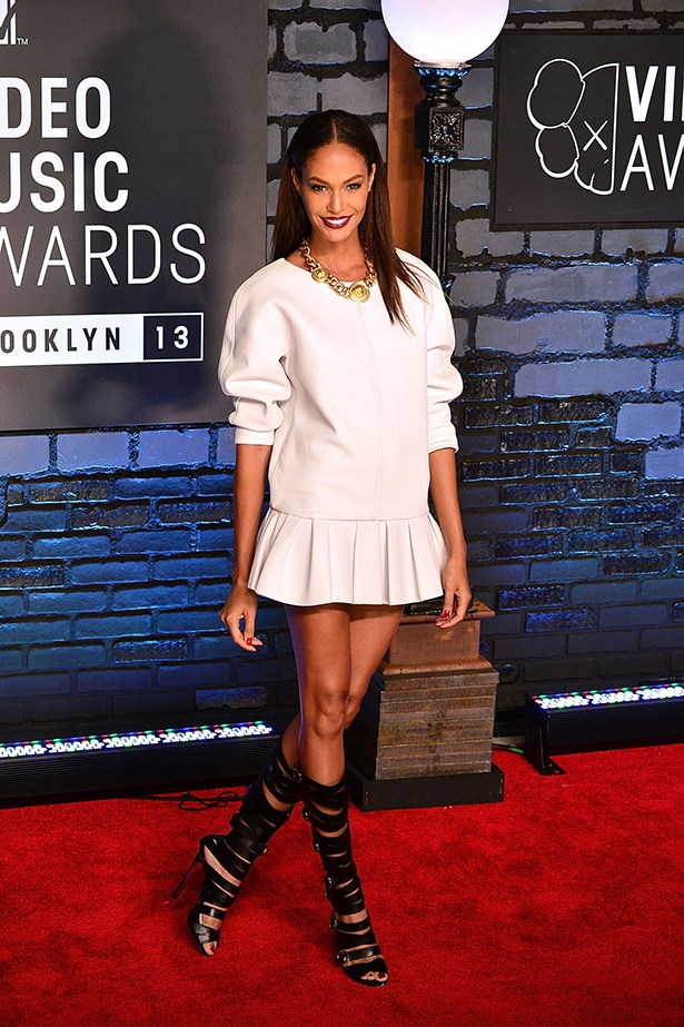 <p><strong>Model mention</strong></p> <p><strong>Joan Smalls</strong></p> <i>Image: Wearing Viktor & Rolf at the MTV Video Music Awards.</i>