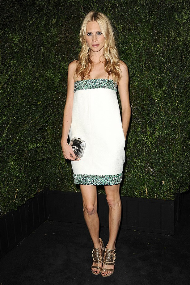 <p><strong>Best use of frills and florals by an adult</strong></p> <p><strong>Poppy Delevingne</strong></p> <i>Image: Wearing Chanel at a dinner hosted by the French fashion house.</i>