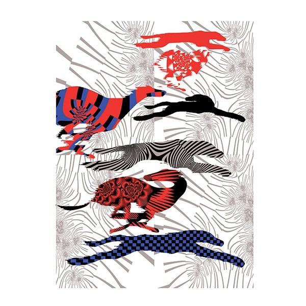 Birds Of Tokyo x Amsterdam based artist Kustaa Saksi