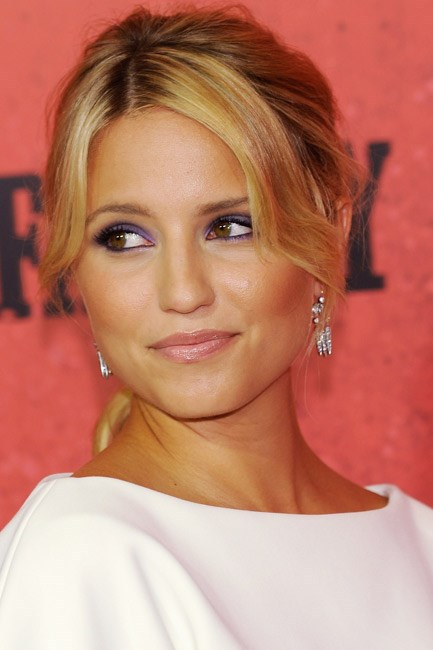 Dianna Agron's eyes had it at <em>The Family</em> world premiere when she lined them – all the way around – with Radiant Orchid.