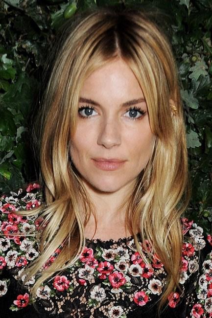 <strong>BEFORE: Sienna Miller<br> Colour code:</strong> Sienna Miller dyed her signature blonde bombshell locks an ethereal shade of rose-gold and, subsequently, turned many heads.