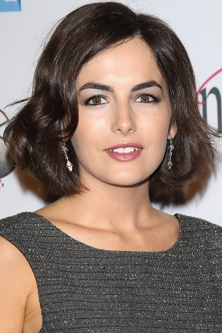 <strong>BEFORE: Camilla Belle<br> Bang bang:</strong> According to, err, science, cutting a fringe is one of the most common New Year's hair resolutions. Camilla Belle went all out and scissored hers blunt and sweet.
