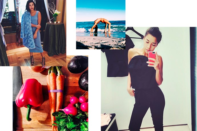 """<a href=""""http://instagram.com/hannahbronfman"""">@hannahbronfman</a><br> Follow for: The actress, DJ, app inventor, yogi (the list goes on) will be sure to inspire"""