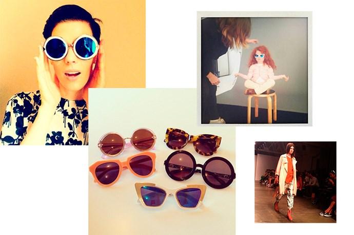 "<a href=""http://instagram.com/karen_walker"">@karen_walker</a><br> Follow for: The frames, jewels and clothes from our favourite New Zealand designer"