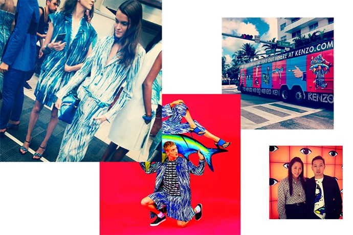 """<a href=""""http://instagram.com/kenzo"""">@kenzo</a><br> Follow for: Another way to fawn over the label's creations"""
