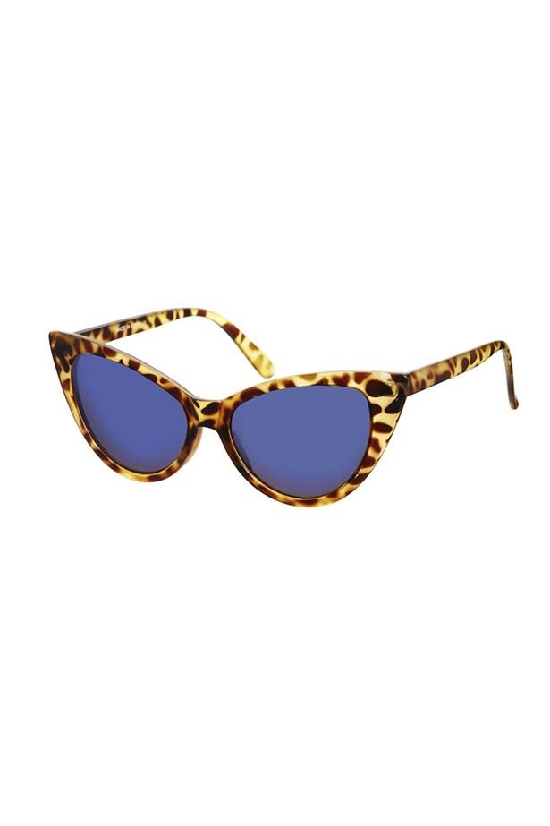 """Cats-eye sunglasses, $19.05, ASOS, <a href=""""http://www.asos.com"""">asos.com</a>"""