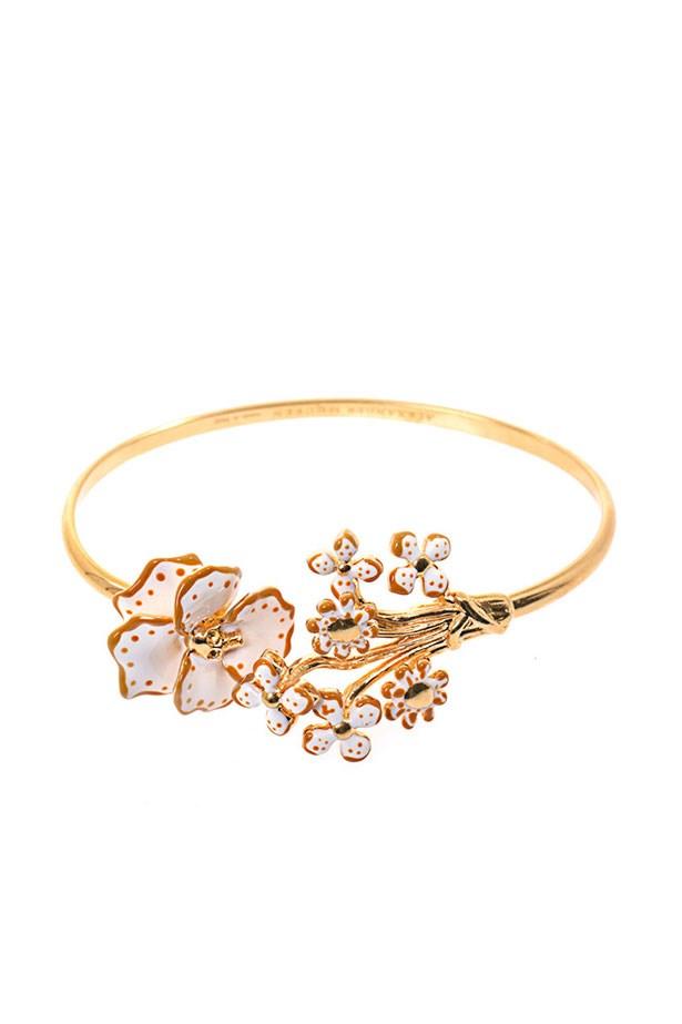 """Bracelet, $306, Alexander McQueen, <a href=""""http://www.matchesfashion.com"""">matchesfashion.com</a>"""