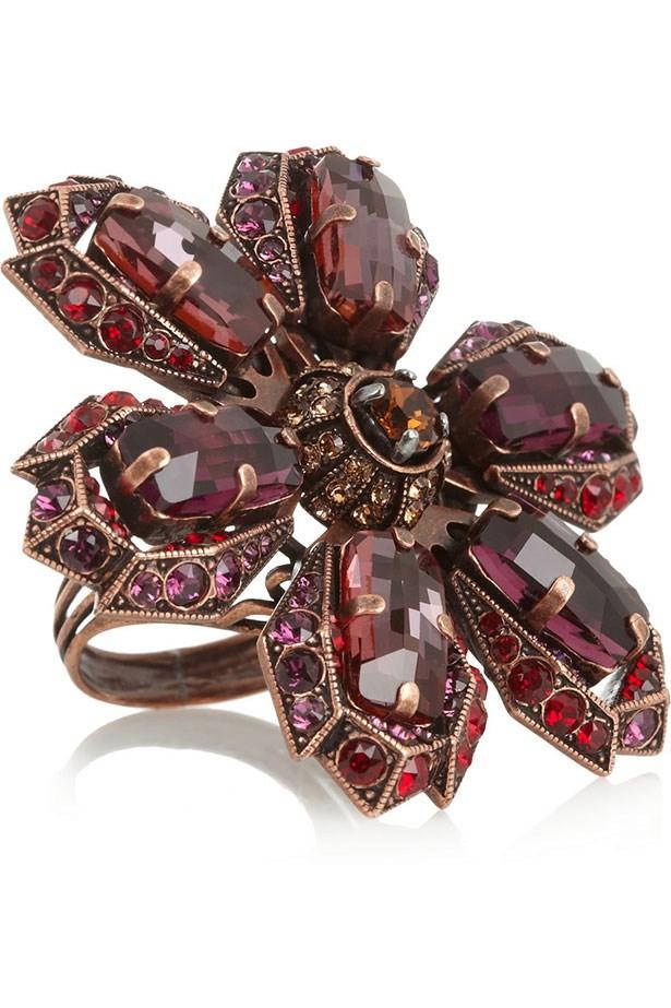"""Ring, $1,202.74, Lanvin, <a href=""""http://www.net-a-porter.com"""">net-a-porter.com</a>"""