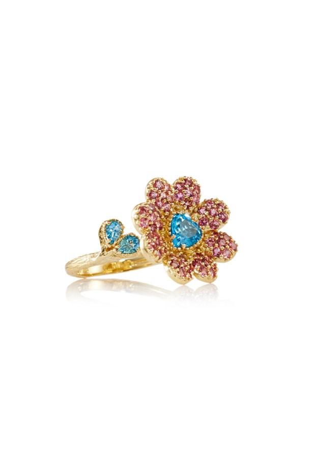"""Ring, $450, Matina Amanita, <a href=""""http://www.thedarkhorse.com.au"""">thedarkhorse.com.au</a>"""