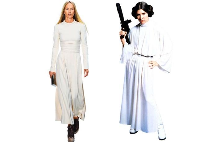 Proenza Schouler SS14 channels Princess Leia in <em>Star Wars</em>