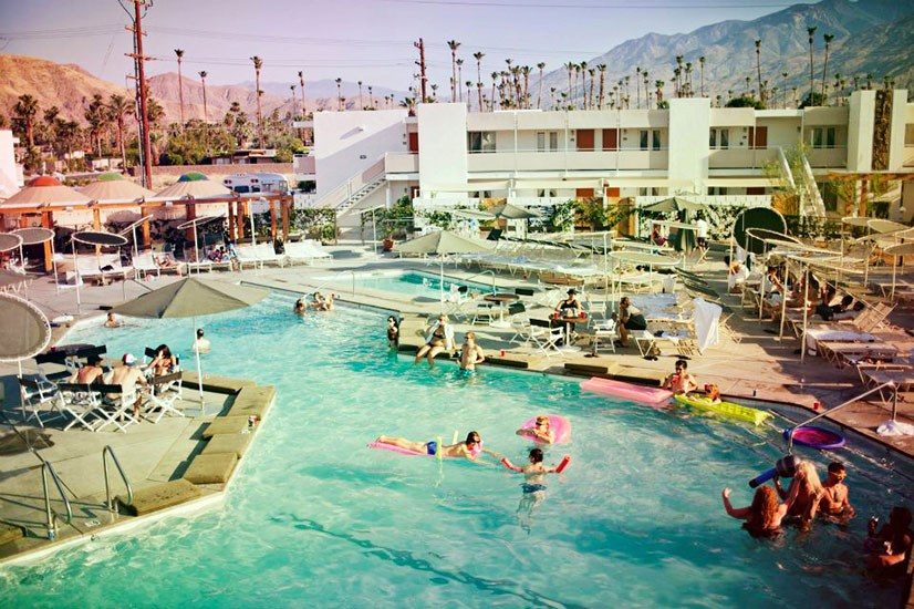 "<p><strong>THE ACE HOTEL SWIM CLUB, PALM SPRINGS</strong></p> <p>The desert and DJs always mix well (Coachella, anyone?), which is why this little oasis draws huge crowds of hipsters to its weekend pool blowouts.</p> <p>How to get in: everyone's welcome – even the kids. Just keep them away past 5pm on weekends.</p> <a href=""http://www.acehotel.com"">acehotel.com</a>"