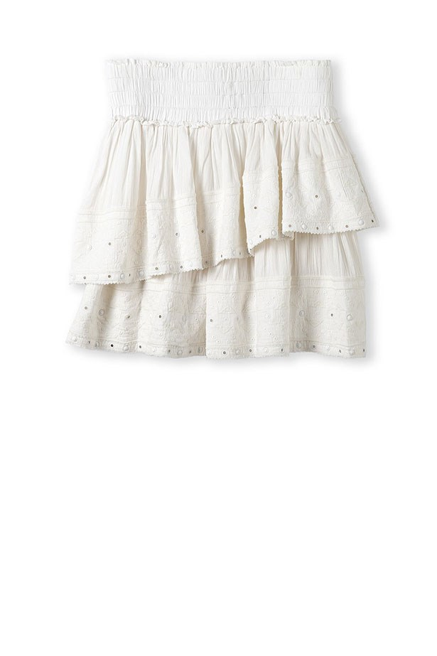 "Skirt, $129, Country Road, <a href=""http://www.countryroad.com.au "">countryroad.com.au </a>"