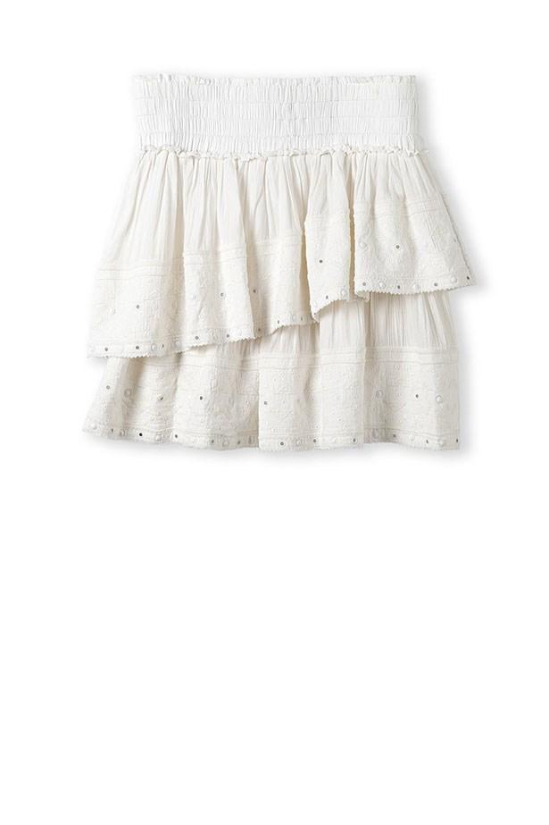 "Skirt, $129, Country Road, <a href=""http://www.countryroad.com.au "">countryroad.com.au </a>"