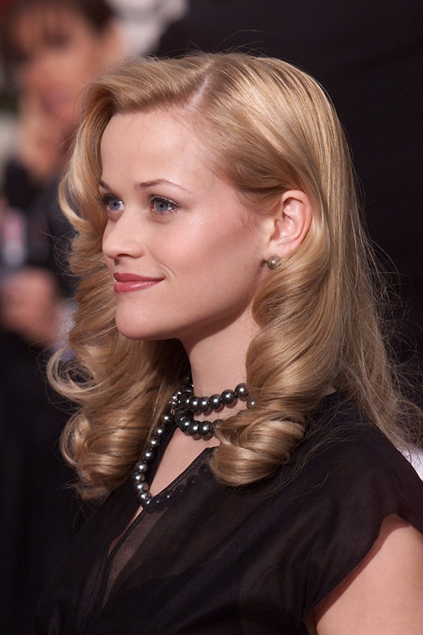 Reese Witherspoon at the 58th Annual Golden Globes in 2001.