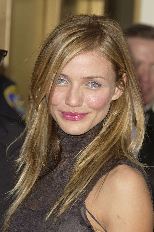 Cameron Diaz at the 60th Annual Golden Globes in 2003.