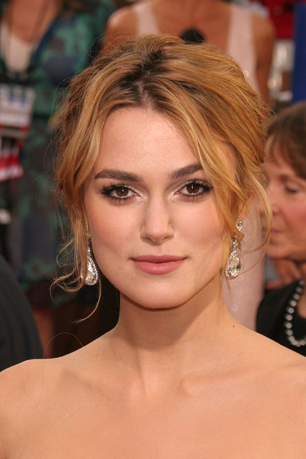 Keira Knightley at the 63rd Annual Golden Globes in 2006.