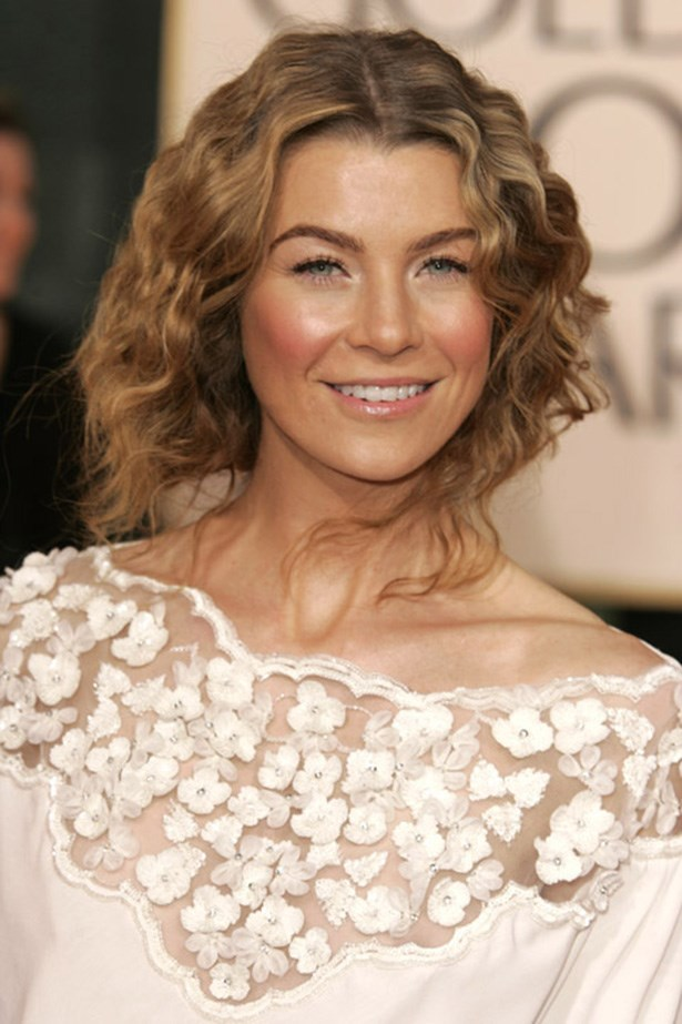 Ellen Pompeo at the 63rd Annual Golden Globes in 2006.