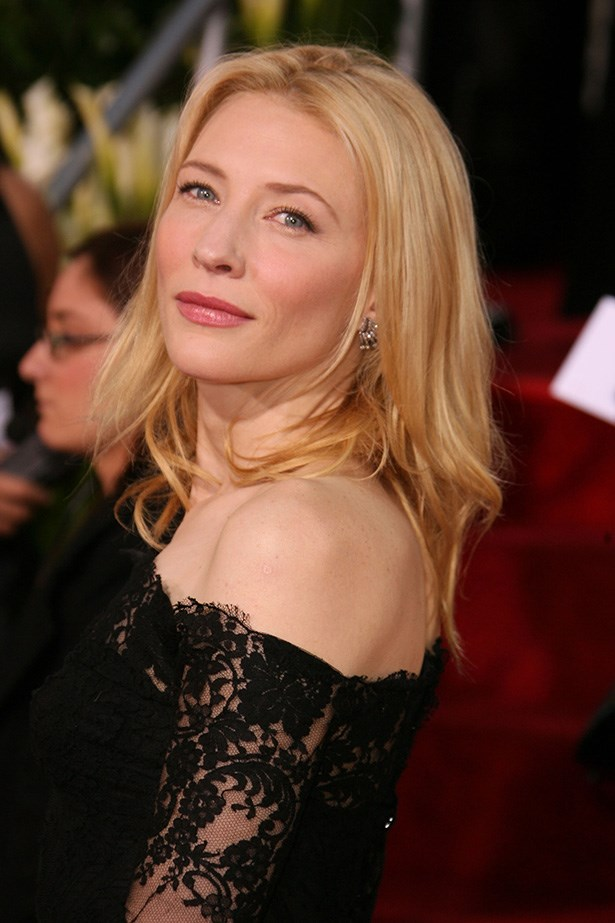 Cate Blanchett at the 64th Annual Golden Globes in 2007.