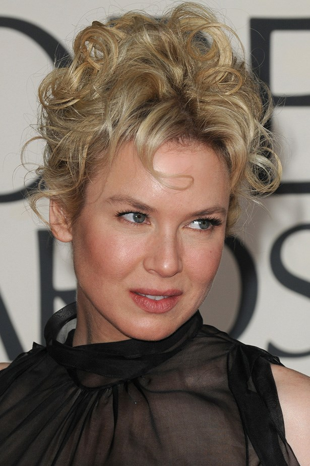 Renee Zellweger at the 66th Annual Golden Globes in 2009.