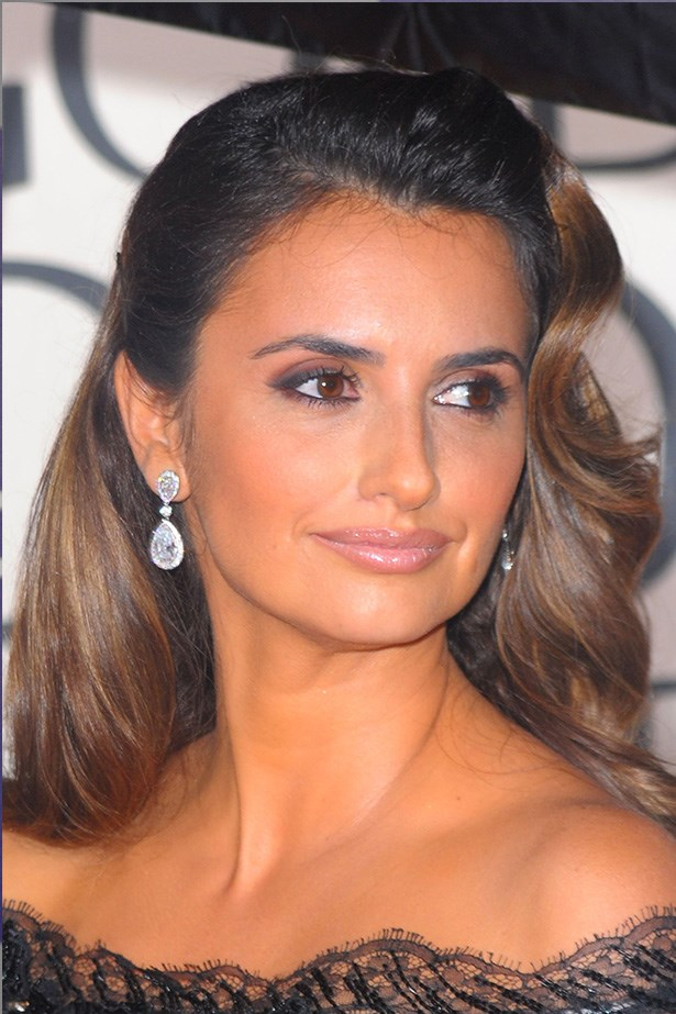 Penelope Cruz at the 67th Annual Golden Globes in 2010.
