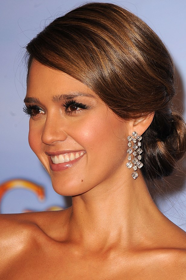 Jessica Alba at the 69th Annual Golden Globes in 2012.