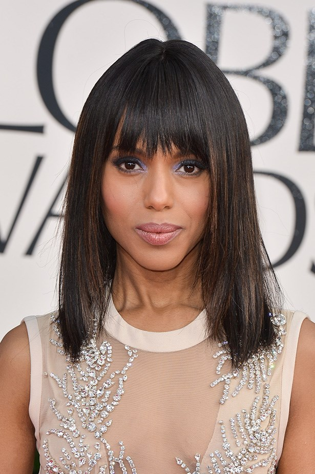 Kerry Washington at the 70th Annual Golden Globes in 2013.
