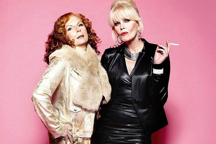<strong>Jennifer Saunders and Joanna Lumley</strong> <br>  <em>Absolutely Fabulous </em>is one of those quintessential British comedies, created by a quintessential British comedy duo: French and Saunders. Saunders went on to develop the series, taking the role of Eddie, however it's Joanna Lumley as chain smoking, food eschewing, binge drinking Patsy Stone that pulls the whole thing together. Lumley and Saunders are close friends in real life, and Lumley even supported Saunders through her battle with breast cancer in 2010.