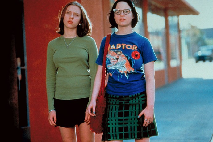 <strong>Scarlett Johansson and Thora Birch</strong> <br>Scarlett Johansson was a relative unknown when she was cast alongside Thora Birch in 2002's <em>Ghost World</em>. That film, in which the pair play wise-cracking cynical teenagers Enid (Birch) and Rebecca (Johansson) signalled the lift-off point for the latter's career. While Birch hasn't reached the stratospheric heights of her co-star, they had an amazing chemistry, and as whip smart outsiders (a role unthinkable for ScarJo now), they were immediately relatable. Plus, batman tees and tartan skirts? Still cool.