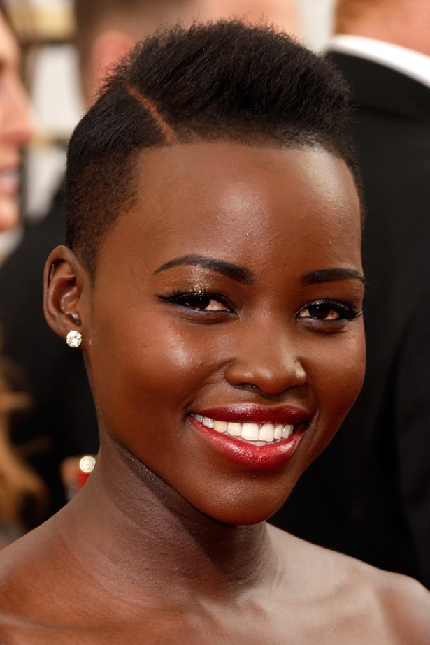 <strong>RED LIPS<BR></strong> Best Supporting Actress nominee, and Hollywood newcomer, Lupita Nyong'o coordinated her lip colour to her Ralph Lauren column gown.