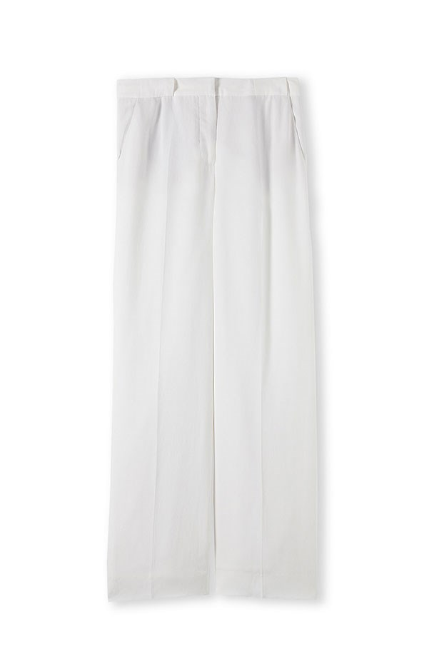 "Trousers, $199, Country Road, <a href=""http://www.countryroad.com.au"">countryroad.com.au</a>"