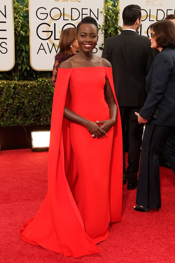 <p><strong>Best superhero moment </strong></p> <p>Lupita Nyong'o in Ralph Lauren. It's a bird, it's a plane, no, it's the best supporting actress nominee in her striking caped gown.  </p>