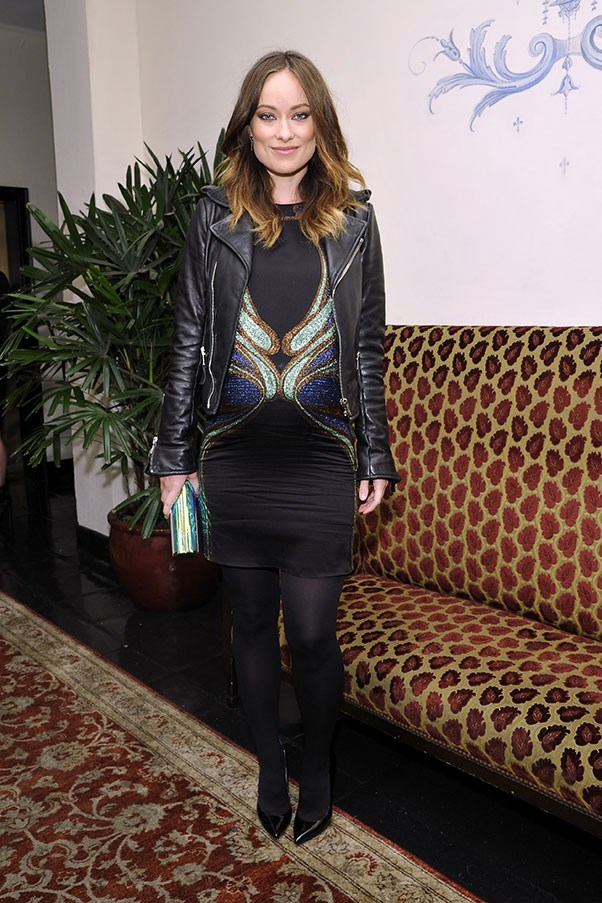 Olivia Wilde at W Magazine's Golden Globes event