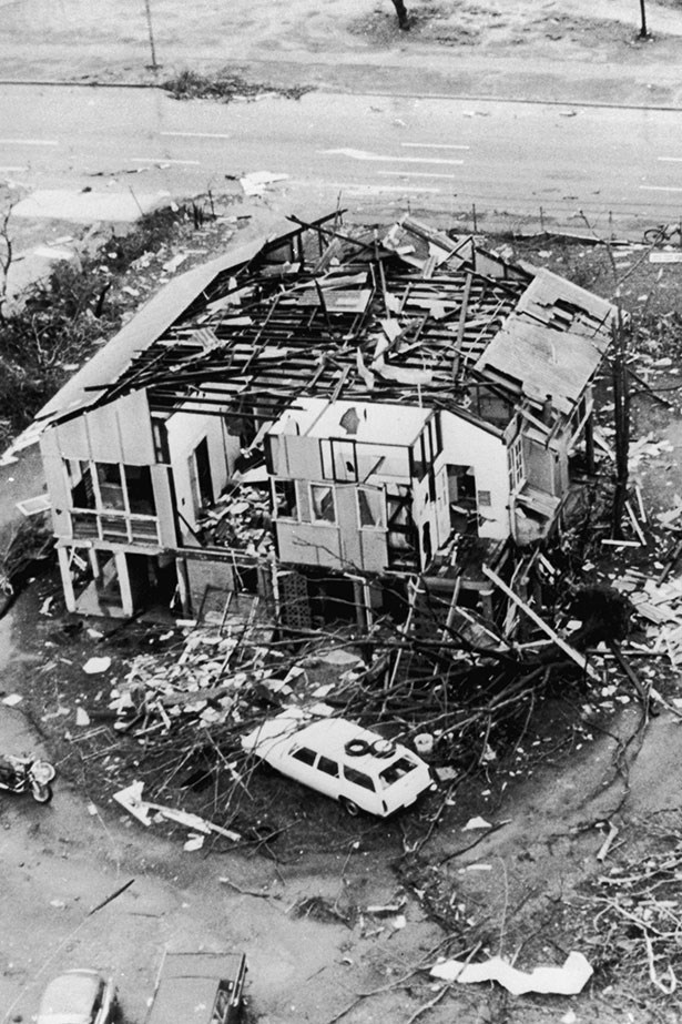 2. Cyclone Tracy. It devastated Darwin and killed 71 people.