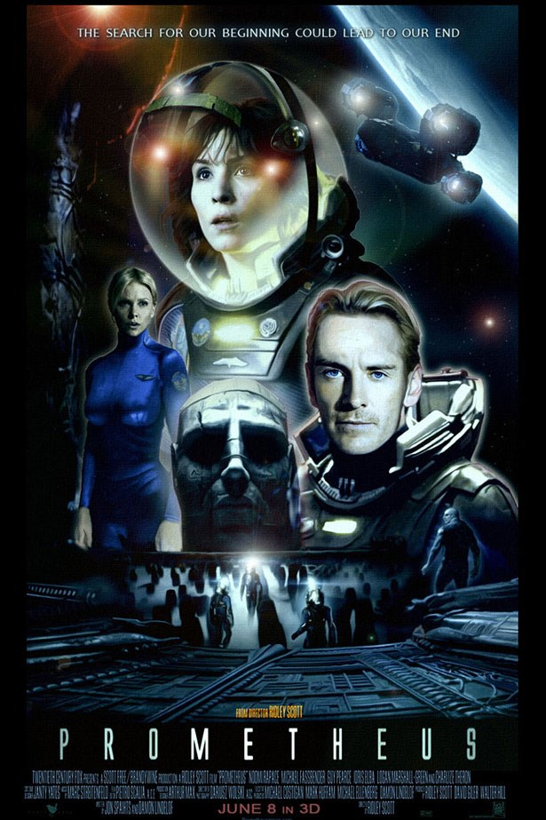 <strong>Prometheus</strong><br> Fassbender played a ruthless Android called David in Ridley Scott's 2012 sci-fi epic. Creepy. Oh-so creepy. We have to say though: he really can pull off any hair colour, even platinum blonde.