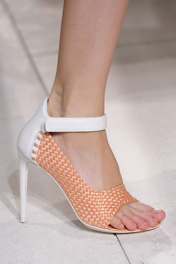 <p><strong>A is for ankle straps</strong></p> <p>From Balenciaga to Dries Van Noten, ankle-strap heels proved an irresistible reason to slip into a pair of stilettos.</p> <p>Look by Balenciaga</p>