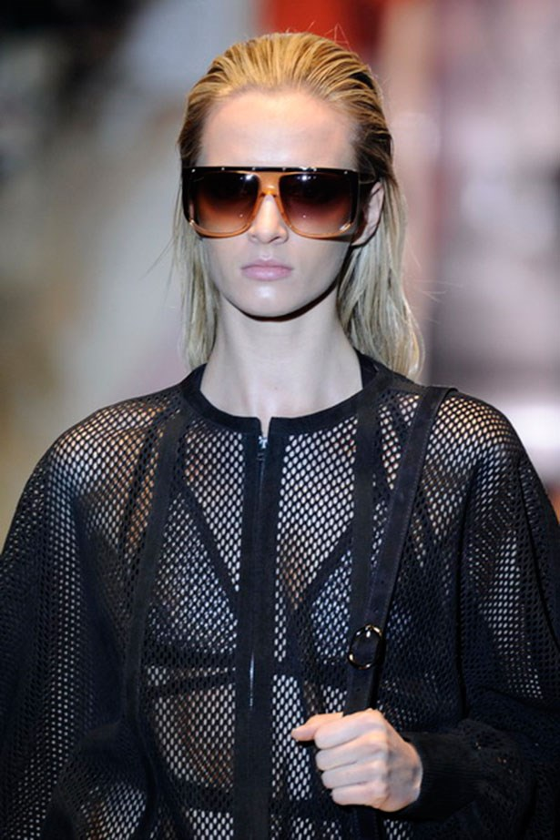 <p><strong>O is for oversize sunglasses</strong></p> <p>They say bigger is better, and this is especially true when it comes to sunglasses. With labels such as Illesteva and Linda Farrow taking centre stage as fashion favourites, there's no excuse for less-than-fabulous sunnies.</p> <p>Look by Gucci</p>
