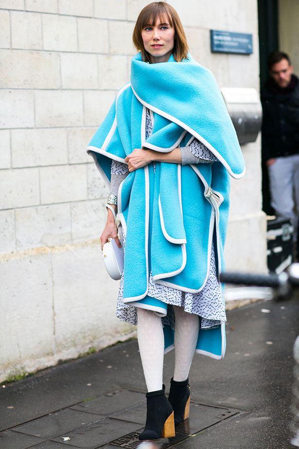 Street Style Paris Haute Couture Ss14 Elle