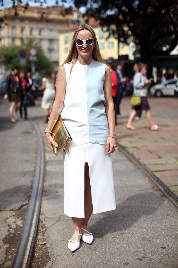ELLE Australia's fashion director Nicole Bonython-Hines