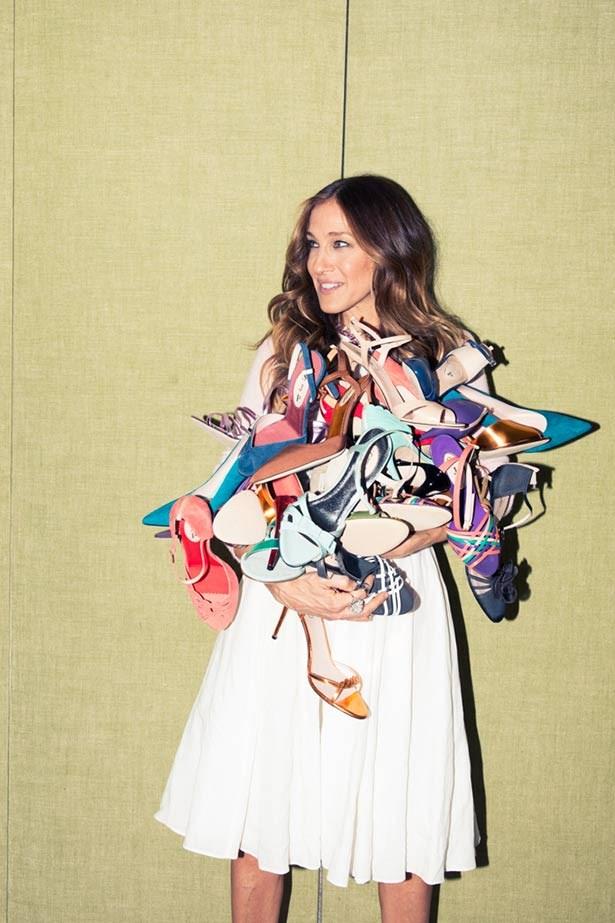 Sarah Jessica Parker's debut shoe collection