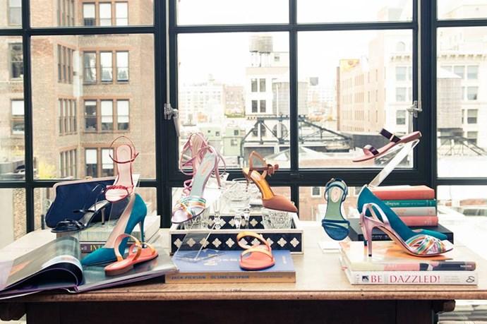 Shoes, glorious shoes. <br><em>Images courtesy of The Coveteur</em>