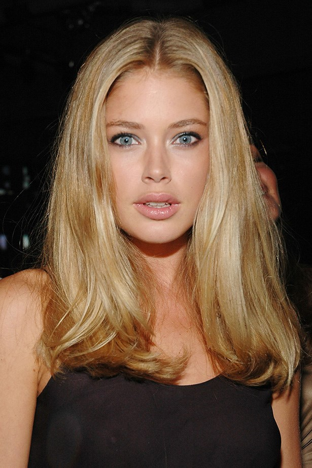 Kroes' flawless complexion was on show at the 2007 Olympus Fashion Week Calvin Klein after party.
