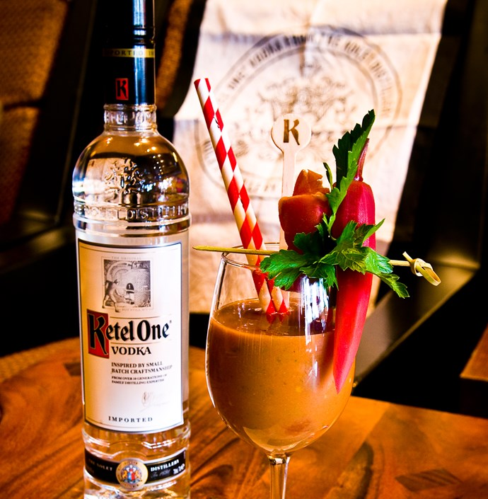 "<p><strong>Queen Isabella<br> Fred Siggins <br> Black Pearl, VIC</strong> <br><br> Bartender Fred Siggins created a Bloody Mary based on a traditional Spanish Gazpacho – a cold soup of bread, tomatoes, onions, cucumber, green capsicum. The drink is called 'Queen Isabella', who was the Queen of Spain and funded Christopher Columbus' discovery of the New World. Before this, Europe hadn't seen a tomato.</p> <a href=""http://www.blackpearlbar.com.au/""target=""_blank"">www.blackpearlbar.com.au</a>"