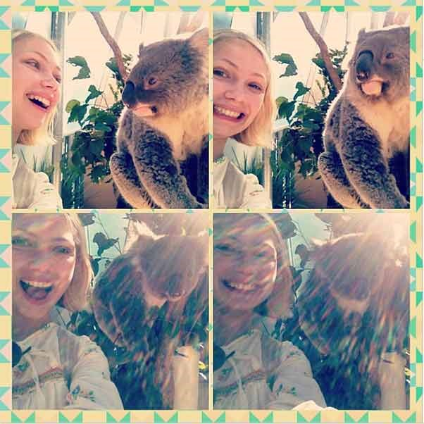 """This happened"" Tavi proudly declared on her Instagram when she visited Australia midway through last year."