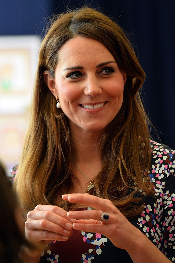 """<p><strong>Kate Middleton, Duchess of Cambridge</strong></p> <p>It was the ring that sparked a thousand knock-offs – Kate's sapphire and diamond engagement ring, which once belonged to Prince William's late mother, Princess Diana. """"[It was] my way of making sure my mother didn't miss out on today and the excitement,"""" says William. </p>"""