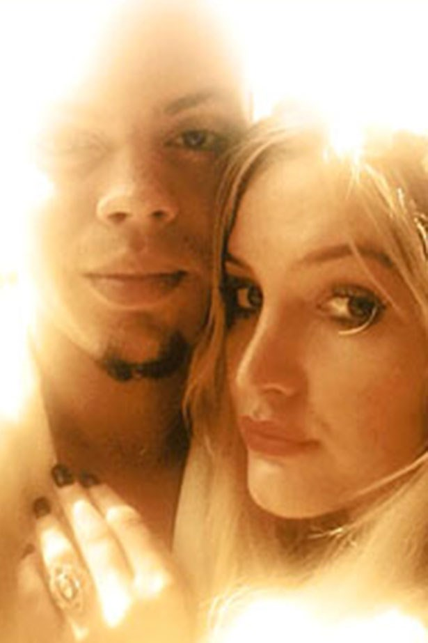 """<p><strong>Ashlee Simpson</strong></p> <p>Neil Lane designed Ash's ring, in collaboration with her fiancé Evan Ross. """"It is a marquise-cut diamond ring in platinum and gold, accented with rubies,"""" said a rep. Rubies also feature in her big sister Jess's engagement sparkler.</p>"""