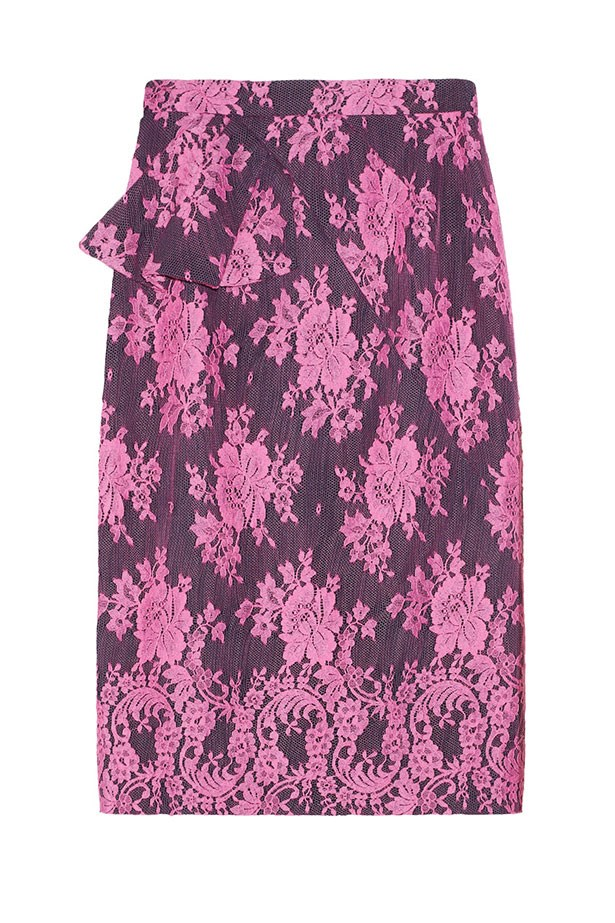 """<p><strong>Most lust-have item for Valentine's Day:</strong></p> <p>This beautiful lace skirt by Erdem is the ideal piece for a Valentine's date.</p> <p>Shawna Skirt, $738, Erdem, available at <a href=""""http://www.theoutnet.com"""">THE OUTNET.COM</a>"""
